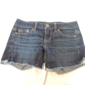 American eagle womens cut off jeans shorts 00